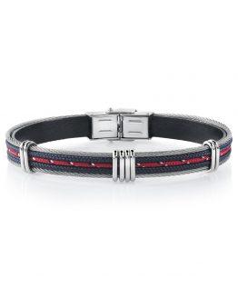 bracelet-acier-coton